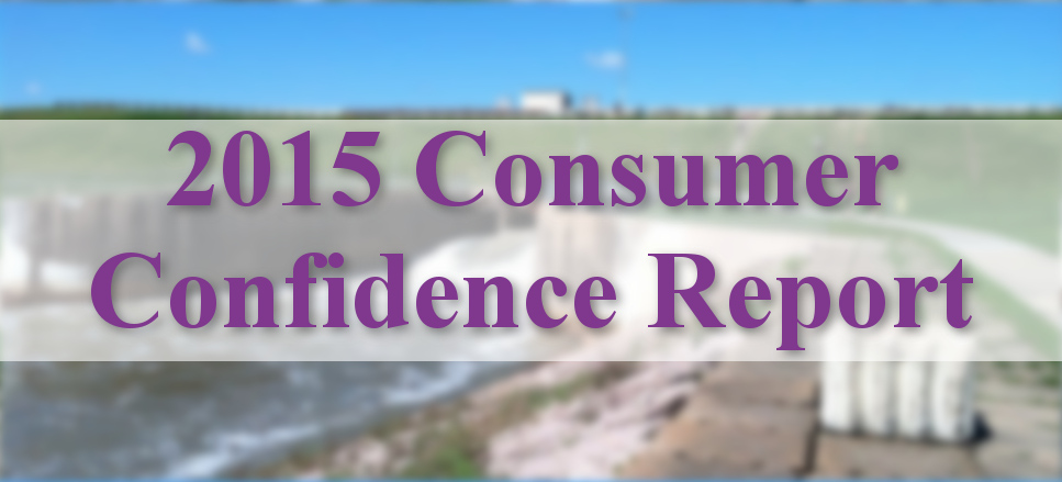 Consumer Confidence Report Banner